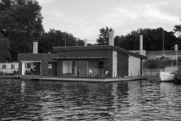 // FLOATING HOUSE on Sava River, 2016 //